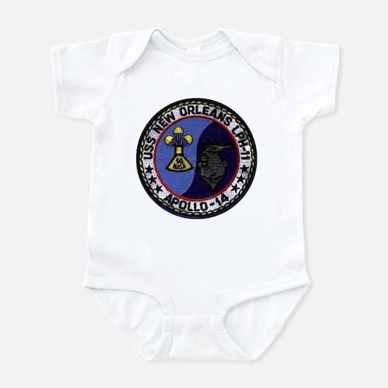 USS New Orleans & Apollo 14 Infant Bodysuit