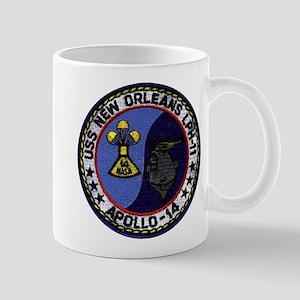 USS New Orleans & Apollo 14 Mug