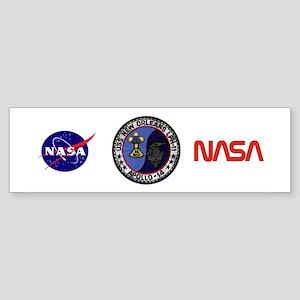 USS New Orleans & Apollo 14 Sticker (Bumper)