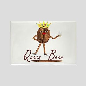 Queen Bean's Fun Stuff Rectangle Magnet