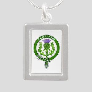 Scotland Thistle Badge Necklaces