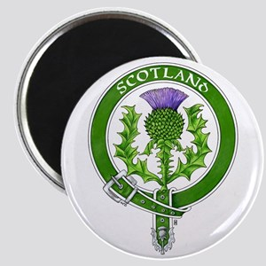 Scotland Thistle Badge Magnets