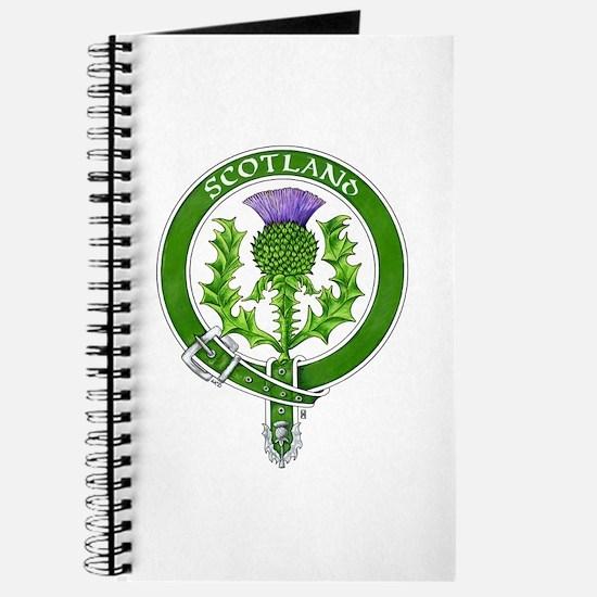 Scotland Thistle Badge Journal
