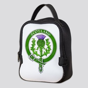 Scotland Thistle Badge Neoprene Lunch Bag