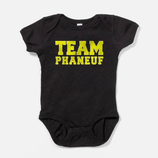 TEAM PHANEUF Baby Bodysuit