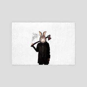 Evil Rabbit 4' x 6' Rug