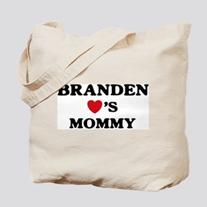 Branden loves mommy Tote Bag