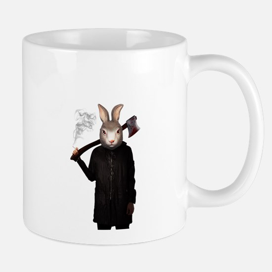 Evil Rabbit Mugs