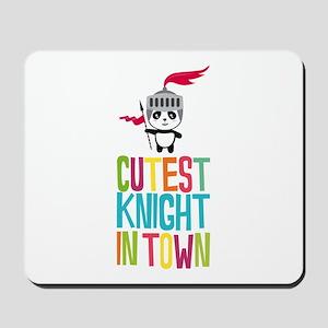 Cutest Panda Knight Mousepad