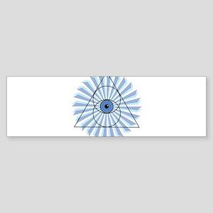 New 3rd Eye Shirt2 Bumper Sticker