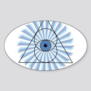 New 3rd Eye Shirt2 Sticker