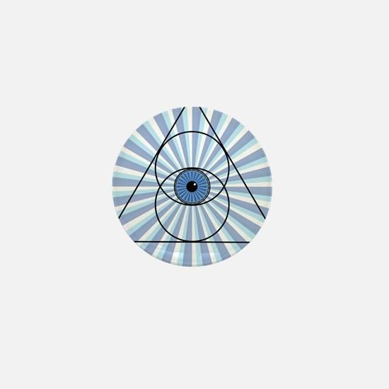 New 3rd Eye Shirt2 Mini Button (10 pack)