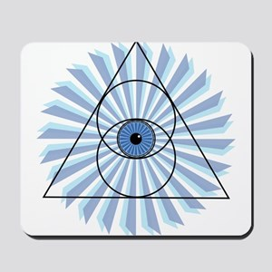 New 3rd Eye Shirt2 Mousepad