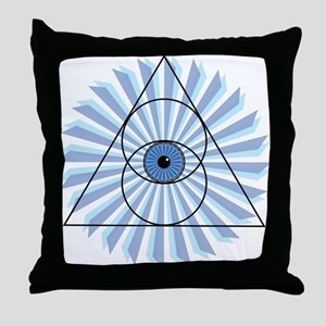 New 3rd Eye Shirt2 Throw Pillow