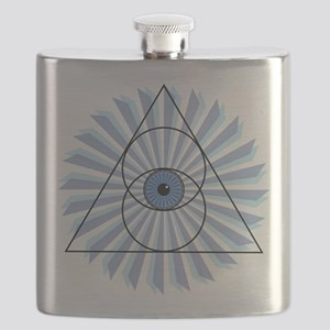 New 3rd Eye Shirt2 Flask