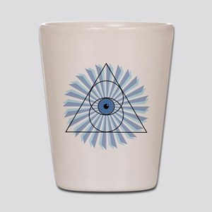 New 3rd Eye Shirt2 Shot Glass