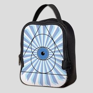 New 3rd Eye Shirt2 Neoprene Lunch Bag