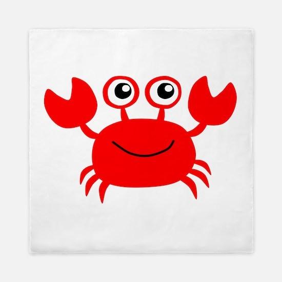 Red Crab Queen Duvet