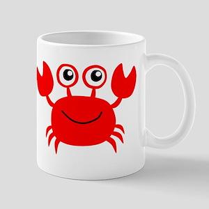 Red Crab Mugs