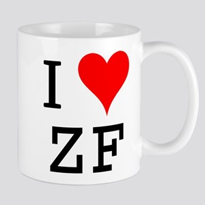 I Love ZF Mug
