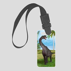 Dinosaur Brachiosaurus Luggage Tag