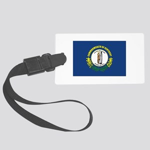 Flag of Kentucky Large Luggage Tag