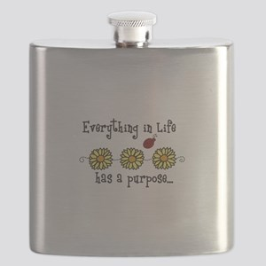 Everything In Life Flask