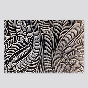 modern pattern western carved leather texture Post