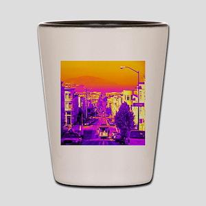 San Fracisco,wild version Shot Glass
