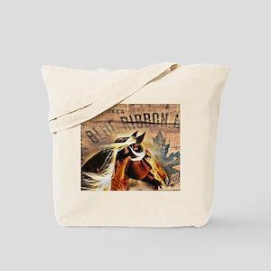 modern horse barn wood farm Tote Bag