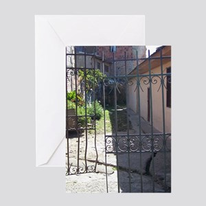 Broken Gate Greeting Cards