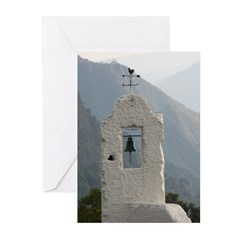 faux tower Greeting Cards