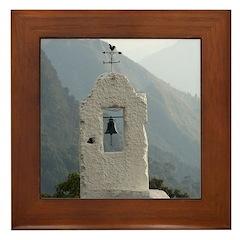 faux tower Framed Tile