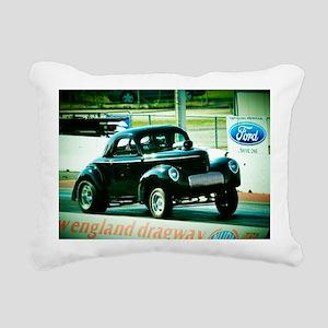Willys Gasser Rectangular Canvas Pillow