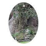 Eucalyptus Tree Ornament (Oval)