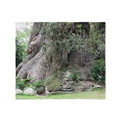 Eucalyptus Tree Throw Blanket