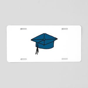 Graduation Cap Aluminum License Plate