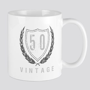 50th Birthday Laurels Mug