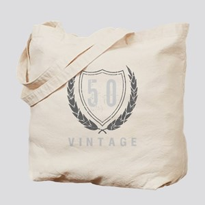 50th Birthday Laurels Tote Bag