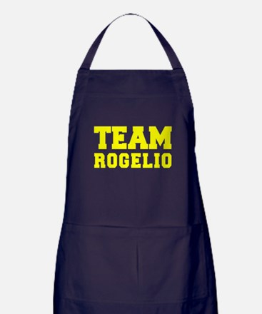 TEAM ROGELIO Apron (dark)