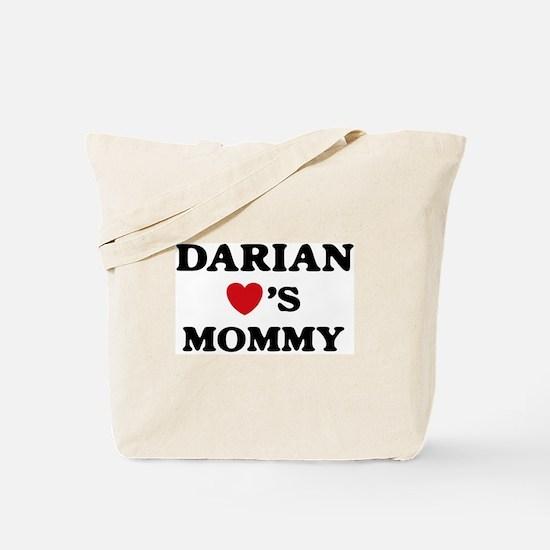 Darian loves mommy Tote Bag