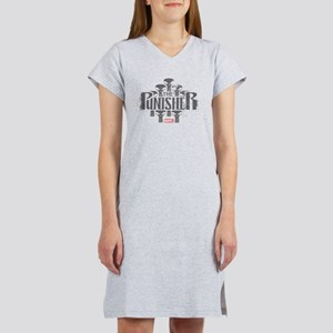 The Punisher Distressed Women's Nightshirt