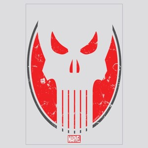 Punisher Icon Wall Art