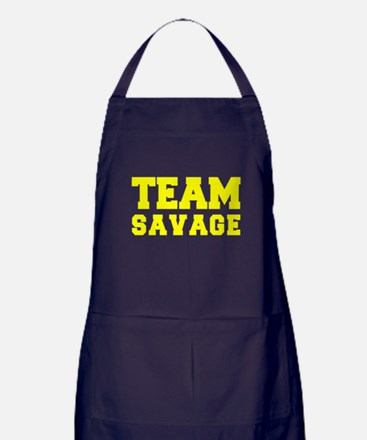 TEAM SAVAGE Apron (dark)