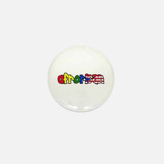 Afrorican Mini Button