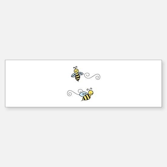 Bees Bumper Bumper Bumper Sticker