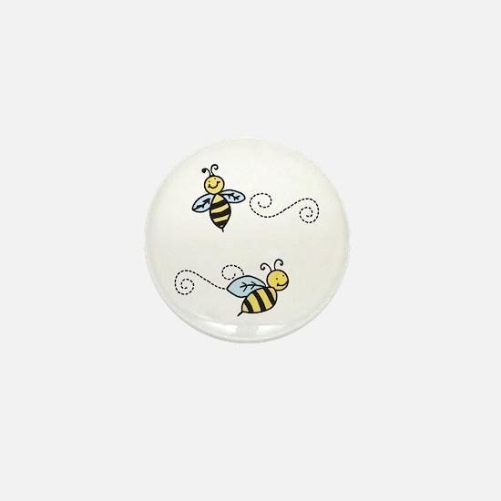 Bees Mini Button