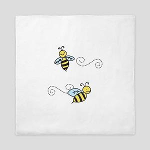 Bees Queen Duvet