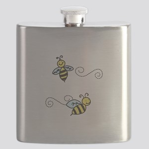 Bees Flask