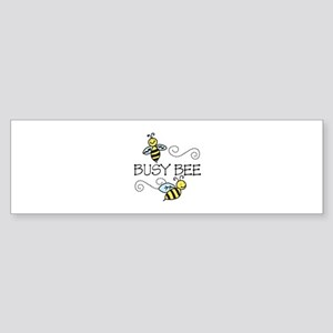 Busy Bees Bumper Sticker